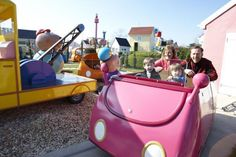 Daddy Pig's Car Ride. Daddy loves his car and this is your chance to ride around Peppa Pig World and enjoy meeting Peppa's friends.