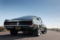 Limited Edition Steve McQueen Mustang    UAU