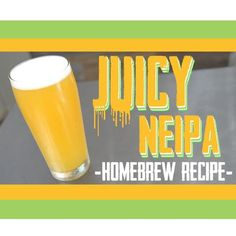 One of the most popular styles of beer that people have been brewing recently is the New England IPA Theyre dank fruity juicy hazy and delicious Just thinking about. Beer Brewing Kits, Brewing Recipes, Homebrew Recipes, Beer Recipes, Coffee Recipes, Brew Your Own, Make Your Own Beer, How To Make Beer, Ipa Recipe