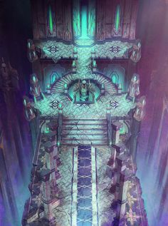ArtStation - 'Blade' Concept Art - Theme04. Elysion(Temple of Light), Arthur Lee