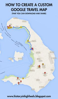 Creating Custom Google Maps - History In High Heels