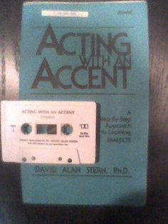 How To ACT ACTING WITH SPANISH ACCENT Dialect Tape + Spanish Language Courses, School Supplies, Documentaries, Acting, Tape, Homeschool, Languages, Science, Education