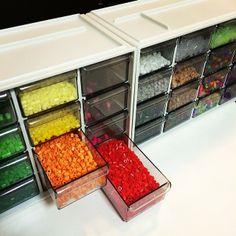 Perler bead storage by nachagram