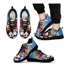 fd8a72b11bdbe Mickey and Minnie Shoe Designs Now On Sale at FluffyKicks