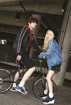 f(x) Krystal and Ahn Jae Hyun - Puma F/W 2014