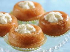 Babas au rhum - Desserts - My Cuisine Desserts Français, French Desserts, Dessert Recipes, Rum Recipes, Cooking Recipes, Les Babas, Cake Factory, Everyday Food, Baked Goods