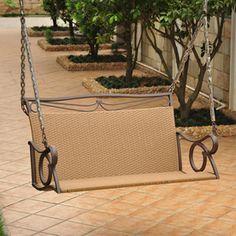 International Caravan 2-seat Steel Traditional Swing 4100-dbl