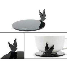 TRIBE's acrylic laser cut  animal coasters
