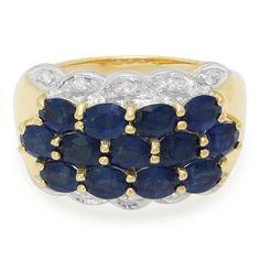 Bague en or et Saphir - Bijoux serties de pierres véritables et au meilleur prix chez Juwelo en direct du fabricant.