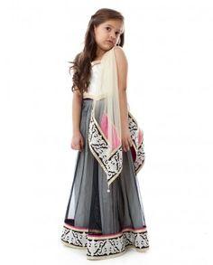 look how cute this is!!!#Fashion, Kashmiri Lehnga Choli