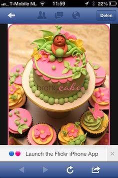 Mixed Interest Birthday CakeCupcakes Birthday cake cupcakes and