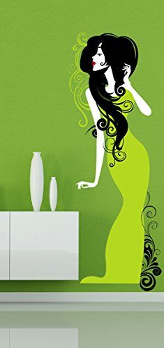 Wall Stickers Murals, Wall Decal Sticker, Easy Wall, Living Room Bedroom, Femininity, Wall Colors, Wall Art, Interior Design, Amazon