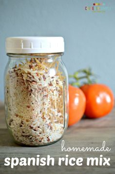 Have you ever wondered how to make your own spanish rice mix?  Here's a simple recipe! You won't believe how easy it! Combine these ingredients and then store in an airtight container until you're ready to make it as a delicious side.