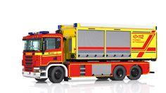LEGO Scania G440 hooklift truck - Wechselladerfahrzeug | von Niklas-B