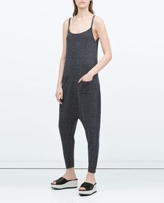 ZARA - WOMAN - STRAPPY JUMPSUIT WITH POCKETS