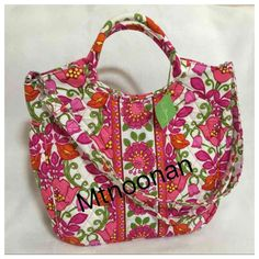 I just listed $86 Vera Bradley Lilli Bell Two Way Tote… ($49) on Mercari! Come check it out! https://item.mercari.com/gl/m875635122/ #verabradley #handbags #totes #fashion #style #shopmycloset #forsale #shopping #instafashion #igstyle #instashop #cashinyourcloset #instasale #poshparties #igfashion