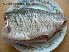 Recept Plněný kapr podle paní Rybákové - Naše Dobroty na každý den   Recepty online Fish, Meat, Pisces