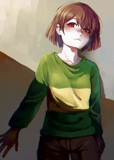 hno3syo, Undertale, Chara (Undertale), Androgynous