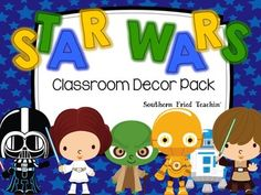 Star Wars Themed Classroom Decor Pack