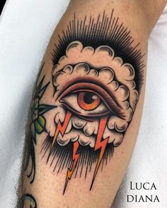 32 Tattoos Ideas for Women - Page 17 of 31 - Tattoo Designs Traditional Tattoo Eye, Traditional Tattoo Old School, Traditional Tattoo Sleeves, Traditional Tattoo Inspiration, Sanduhr Tattoo Old School, Old School Tattoo Designs, Ojo Tattoo, Tattoos Mandala, Geometric Tattoos