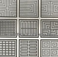 vintage 1970's optic illusion pattern art print book plate black & white pop art design retro home decor mod geometric picture wall 73 74 by RecycleBuyVintage on Etsy