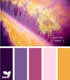 I adore the design seeds website! 4 color combos each day?!? I think I'm going to have to make a quilt in these colors.
