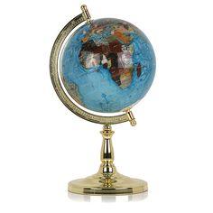 Semi-Precious Stone Globe