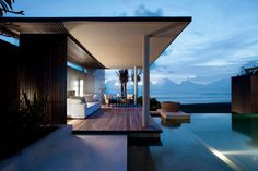 Alila Villas Soori, located a 90-minute drive from the Ngurah Rai International Airport, Bali