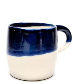 Leif. I love the contrasting colors on this Indigo Dipped Mug.