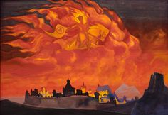 Roerich Paintings | Saint Sophia the Almighty Wisdom