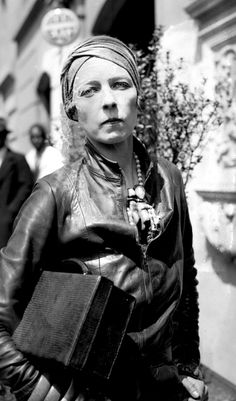 Nancy Cunard - Massive inspiration, she dressed like this in the 1920s! Still so relevant now