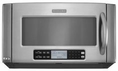 KHHC2090SSS KitchenAid Architect 2.0 Cu Ft 1200 W Over The Range Microwave    Stainless Steel.