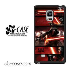 Star Wars The Force Awakens The Main Villain DEAL-10063 Samsung Phonecase Cover For Samsung Galaxy Note Edge