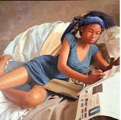 Nigerian Artist oresegun Olumide