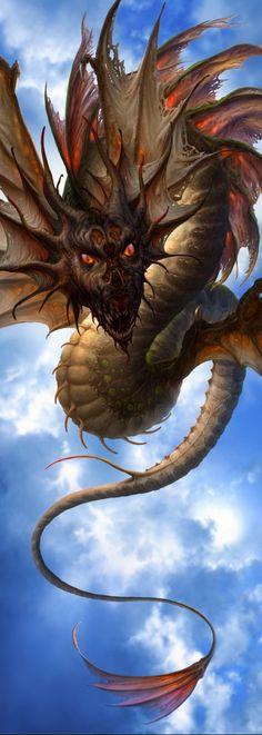 Kazumasa Uchio (Маса Kazu Utio) - любитель драконов.