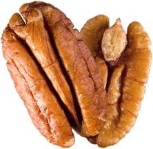 Las nueces de pecán, descubre todas sus propiedades! Pecans, Chihuahua, Bacon, Breakfast, Food, Homemade Food, Sweet Desserts, Dried Fruit, Health Desserts