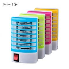 Buy 2018 New Mosquito Killer Lamps LED Socket Electric Mosquito Fly Bug Insect Trap Killer Zapper Night Lamp Lights lighting EU US Mosquito Killer, Mosquito Trap, Bugs And Insects, Night Lamps, Lampe Led, Pest Control, Hand Warmers, Flashlight, Pet Toys