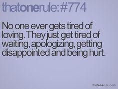 True...enough is enough
