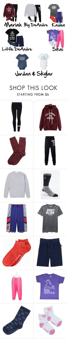 """""""Family Game Night!"""" by myhappyfamily ❤ liked on Polyvore featuring adidas, Brooks Brothers, Moschino, Lacoste, NIKE, Under Armour, Frank Dandy, Splendid, Urban Pipeline and Ralph Lauren"""