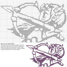 Blog List of Quick 'n Free Modern Cross Stitch Patterns