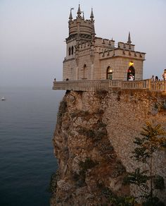 Castle Swallow's Nest, Southern Ukraine
