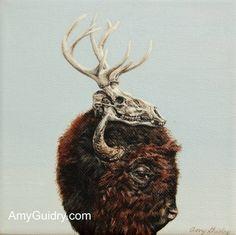 "Saatchi Art Artist Amy Guidry; Painting, ""Trophy"" #art"
