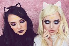 okay last 1! if u haven't watched this GRWM ft. @minnieewinniee u should! #ASHTOBERFEST DAY 11: LUNA & ARTEMIS FROM SAILOR MOON 💖😼🌙✨ Hope U enjoy hearing us talk about our friendship and get that little singing lesson in from Sara LMAOOOO.If u have any questions about products leave a comment on the video and I'll answer I promise! <3 tysm also everyone tell Sara to make a YouTube channel!!! LINK IN BIO
