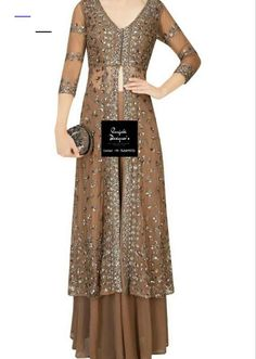 Looking for Indo Western Dress Girls Clothing? Check out the latest collection of Indo Western Dress Girls & dresses for ladies on Punjabi Designers. Girls Party Dress, Girls Dresses, Dresses For Work, Indo Western Dress For Girls, Dress Designs For Girls, Indowestern Gowns, Groom Wedding Dress, Dress With Shawl, Party Dresses Online