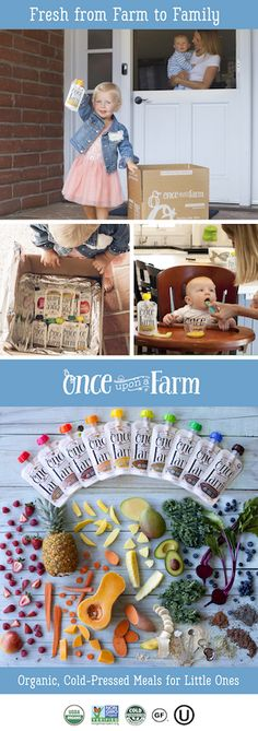I entered to win a FREE 24 pack from Once Upon a Farm! Once Upon A Farm