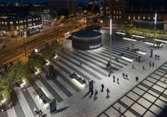 Kings Cross Square   london   United Kingdom   Lighting Projects 2015   WIN Awards