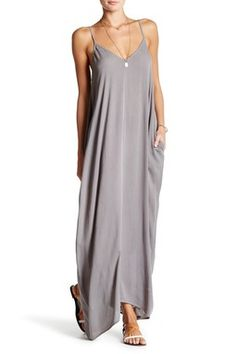 Gauze Maxi Dress. Effortlessly float through the seasons with the pocketed design of this dreamy lightweight, gauze maxi dress. #ad