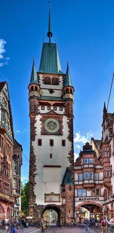 'Martinstor' Freiburg im Breisgau, Germany