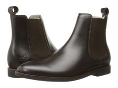 LACOSTE Crosley Chelsea 316 1. #lacoste #shoes #boots Lacoste Shoes, Lacoste Men, Dark Brown, Chelsea Boots, Men's Shoes, Mens Fashion, Shopping, Collection, Style