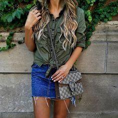 Street style essentials💙💚 picture miamiamine®